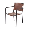Lazy Susan Industrial Arm Chair