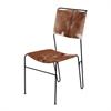 Goatskin Tuft Side Chair