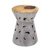 Amoeba Aluminum Stool