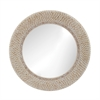 Ribbed Ring Shell Mirror