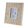 Lazy Susan 5X7 Natural Shell Bud Frame