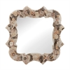 Square Antoinette Shell Mirror