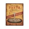 Metal Pasta Sign
