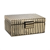 Ceramic Golden Jewelry Box