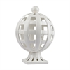 Lazy Susan Ceramic Basket Weave Trophy