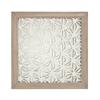 Natural Fibers-On-Foil Wall Decor