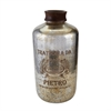Oversized Antique Mercury Glass Bottle