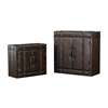 Sterling Set of 2 Travelers Cabinets