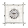 Sterling Vintage Style Clock in Square Mesh