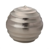Lazy Susan Silver Wave Ball - Lg