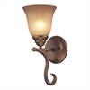 Cornerstone Lawrenceville 1 Light Sconce In Mocha