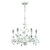 ELK lighting Circeo 5 Light Chandelier In Antique White