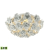 ELK lighting Bouquet 2 Light LED Flush In Matte White