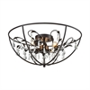 ELK lighting Bridget 5 Light Chandelier In Oil Rubbed Bronze