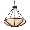 ELK lighting Spanish Mosaic 6 Light Pendant In Aged Bronze