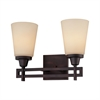 Wright Wall Lamp Espresso 2X100W 120V