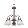 Cornerstone Bellingham 5 Light Chandeier In Oil Rubbed Bronze