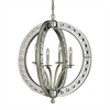ELK lighting Mariana 4 Light Pendant In Speckled Silver