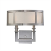 ELK lighting Seven Springs 2 Light Wall Sconce In Satin Nickel
