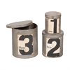 Round Metal Nesting Tins