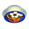 Novelty 2 Light Sports Themed Semi Flush