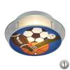 ELK lighting Novelty 2 Light Sports Themed Semi Flush With Recessed Lighting Kit