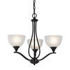 Bristol Lane 3 Light Chandelier