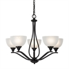 Bristol Lane 5 Light Chandelier