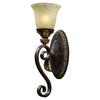 ELK lighting Regency 1 Light Vanity In Burnt Bronze And Gold Leaf
