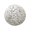 Dimond Home Zealand Wooden Orb White