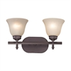 Santa Fe 2 Light Bath Bar In Oil Rubbed Bronze