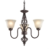 Santa Fe 3 Light Chandelier