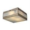 ELK lighting Conley 2 Light Flushmount In Brushed Brass