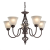 Cornerstone Santa Fe 5 Light Chandelier