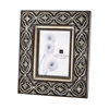 Lazy Susan Hand Carved Ornate Frame - 5 X 7