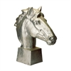 Lazy Susan Gilded Age Horse Head