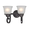 Cornerstone Hamilton 2 Light Bath Bar In Oil Rubbed Bronze