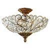 Senecal 6 Light Semi Flush In Spanish Bronze