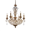ELK lighting Senecal 12 Light Chandelier In Spanish Bronze