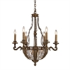 ELK lighting Millwood 10 Light Chandelier In Antique Bronze