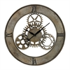 Sterling Industrial Cog Wall Clock By