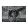 Alton-World War II Airplane Print Etched Print On Aluminum