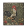 Good Morning Cockerel-Good Morning Cockerel Hand Paint On Wood
