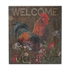 Sterling Welcome Cockerel-Welcome To Our Roost Hand Paint On Wood