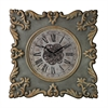 Sterling Nahant-Antique Reproduction Clock Frame With Industrial Centre Print