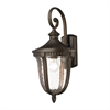 ELK lighting Worthington 1 Light Outdoor Sconce In Hazlenut Bronze
