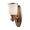 Cornerstone Brooksdale 1 Light Sconce In Antique Copper