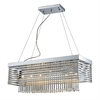 ELK lighting Cortina 12 Light Chandelier In Polished Chrome