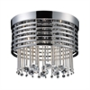 ELK lighting Rados 5 Light Flushmount In Polished Chrome