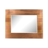 Copper Frame Mirror With Gold
